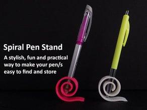 Spiral Pen Stand