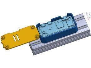 Pi Zero case for 2040 Extrusion (CR-10)