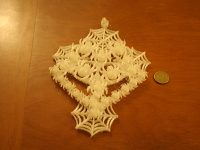 spiderwebs pendant