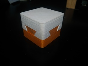 Impossible dovetail puzzle