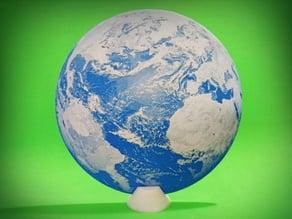 El Mundo 3D en relieve