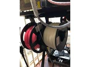 spool holder for folding table