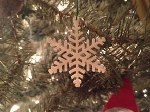 Snowflake Ornament 6 Points