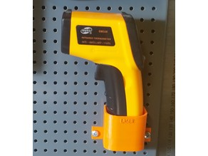Biltema Pegboard Infrared Thermometer Holder