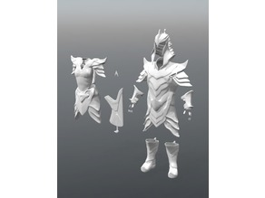 Skyrims Orcish Male & female Armour / Suit
