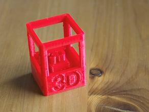 Printable 3D Skill Badge