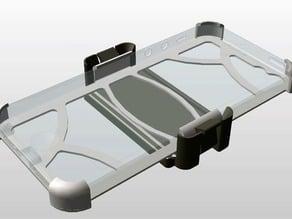Slim iPhone SE / 5s cover car holder