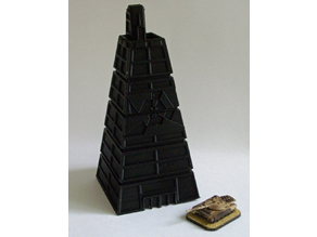 Epic/Battletech scale Office Pyramid