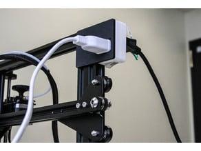 Ender3 自動電源オフ装置 ダイソー節電タップ固定具