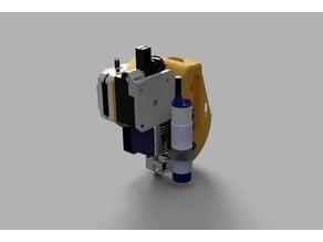 E3D Titan extruder modified for pancake Nema 17