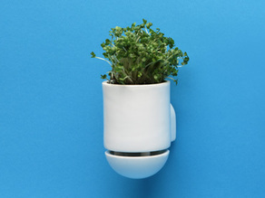 George and ALIC3-D's Combination Planter-Cabinet Handle