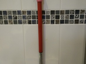 Squeegee hanger - for IKEA Grundtal wall knobs and kent squeegee