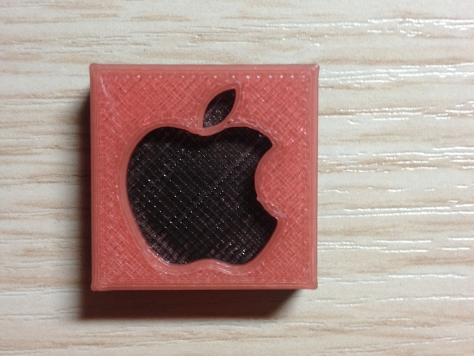 Dual Color On A Stock Mr2 Apple Logo Lego Block 33 For Iphone 4