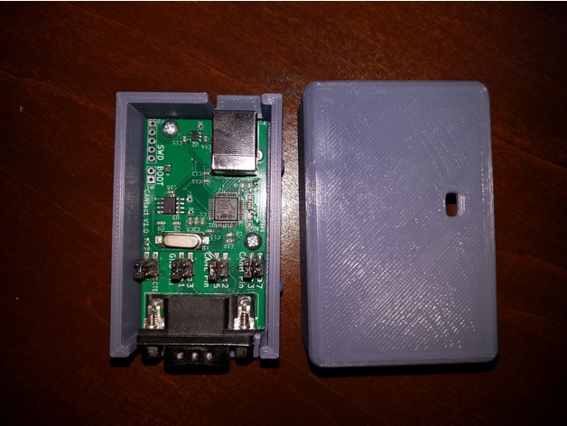 CANTact Open source car tool PCB Case by itsnotlevel