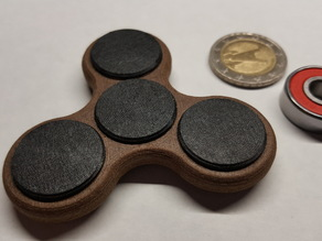 Fidget Tri Spinner - Skate Bearings