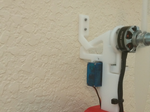 Mini FPV Tricopter Wall Hanger
