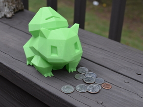 Bulbasaur Coin Bank