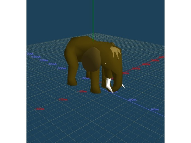 Old School Runescape - Mammoth by Fart_Shartly - Thingiverse