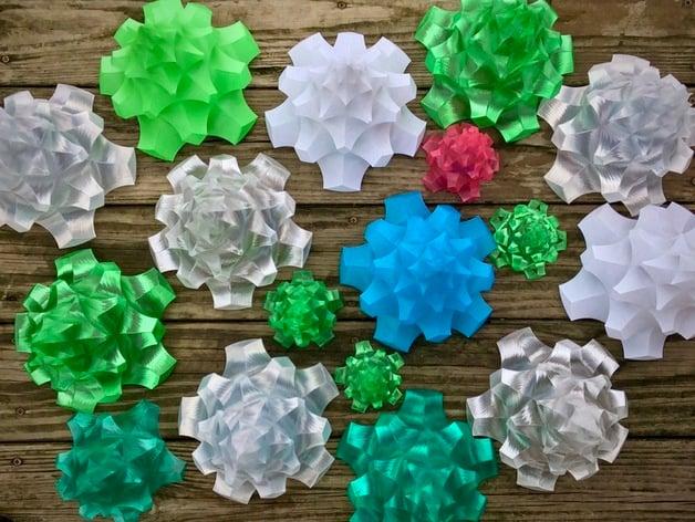 Origami Christmas Trees | 472x628