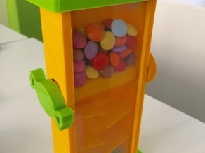 Smarties and skittles dispenser