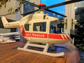 Playmobil Air Rescue replacement skids