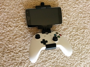 Xbox One S Controller Phone Mount with Modular Mounting System