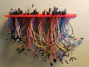 Jumper wire rack v3