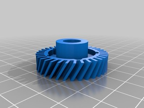 My Customized OpenSCAD Helical Gears