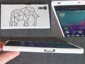 Sony xperia XZ s cover elefant and simple . rev 6 . flexible