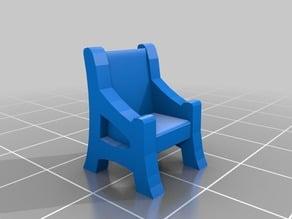 CicadaCrafts 28mm Chair & Bench/Pew