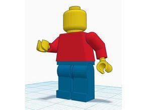 Lego Man (Oversized, fully poseable)