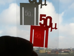 FiftyMicron Bookmark