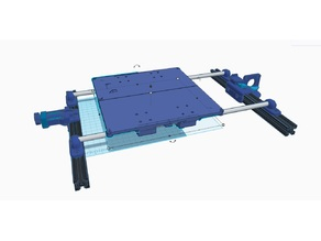 bed Linear Rail conversion (complete setup of all printed parts)