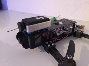 Anti vibration Mobius mount (for r.250 FPV race quad from untestedprototype and other multirotors)