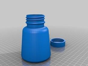 a Customized Bottle wide bottom like a ink well