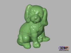 Dog Sculpture 3D Scan