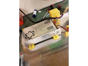 Power supply mounting bracket