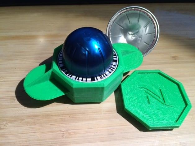 Nespresso Vertuoline Recycler By K E N J I Thingiverse