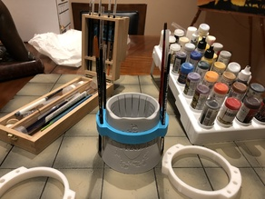 Citadel Water Pot Paint Brush Holders