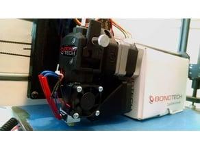 LulzBot Taz 4-5 E3D Direct Drive BondTech Extruder Mount