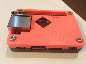 Tiny Connector-Friendly OrangePi One Case