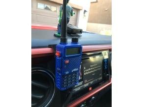 Tacoma dash hand radio mount