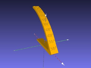 Overhang Angle Test Object