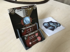 Gloomhaven monster attack deck holder