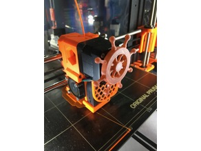 extruder rotation pirate wheel