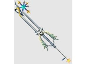 Full-Size Oathkeeper Keyblade - Hollowed for Electronics