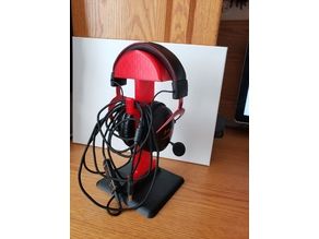 Headphone Stand (designed around HyperX Cloud II)