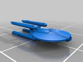 Star Trek - Federation Gemini Class Battleship