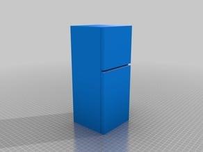 Barbie-scale Fridge-Freezer