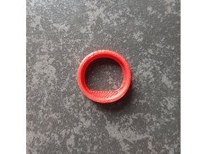 Test cylinder with foot